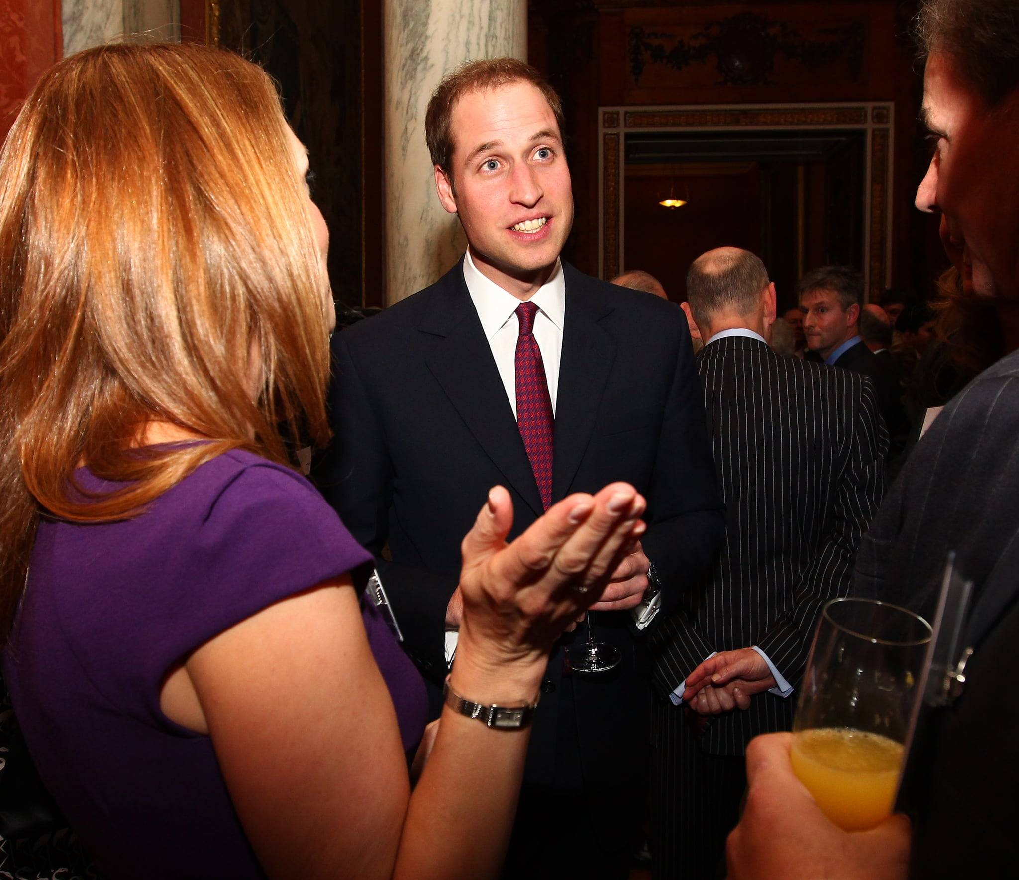 Prince William in London.