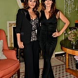 Penélope Cruz and her sister, Monica, attended a dinner for their L'Agent by Agent Provocateur capsule collection in London.
