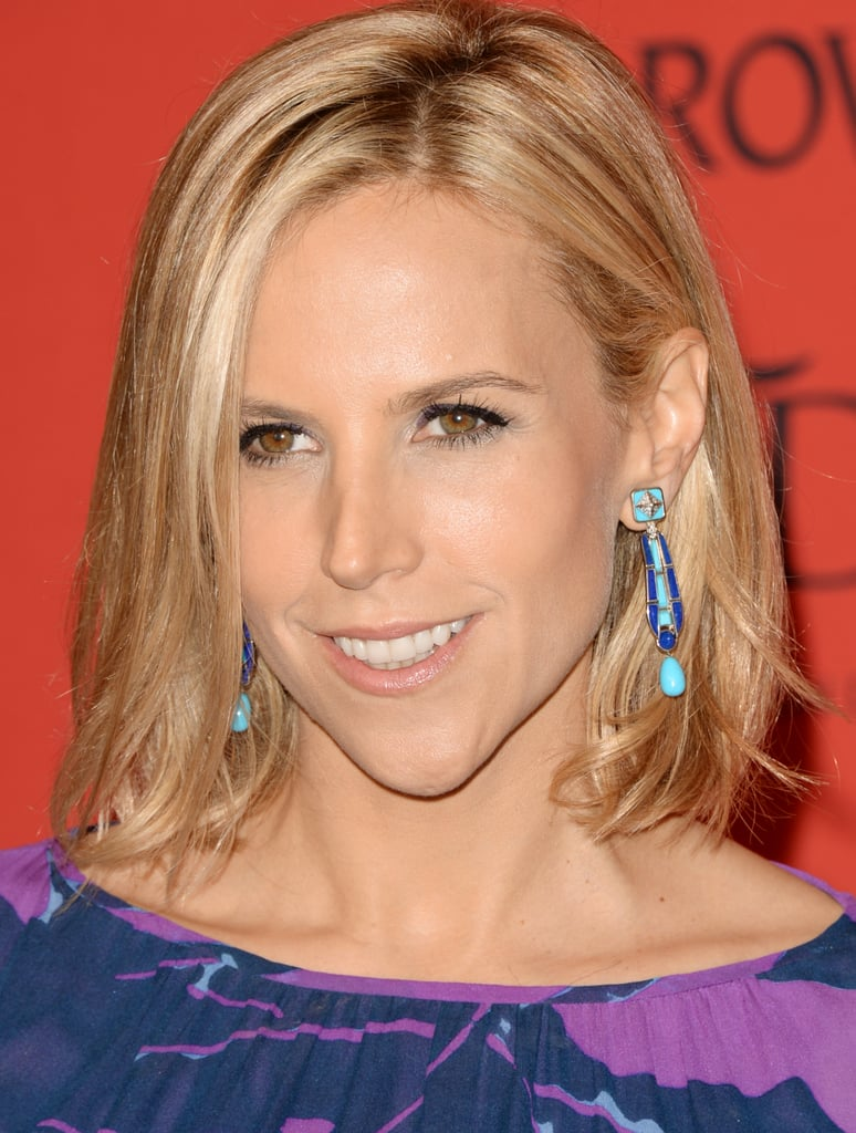 Designer Tory Burch paired her lob with a neutral makeup palette at the CFDA Fashion Awards.