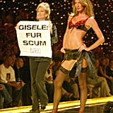 When this lady took issue with Gisele in 2002