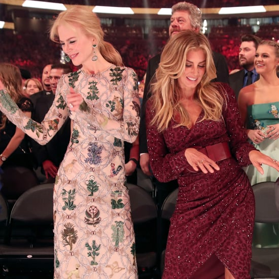 Nicole Kidman and Faith Hill at the 2017 ACM Awards