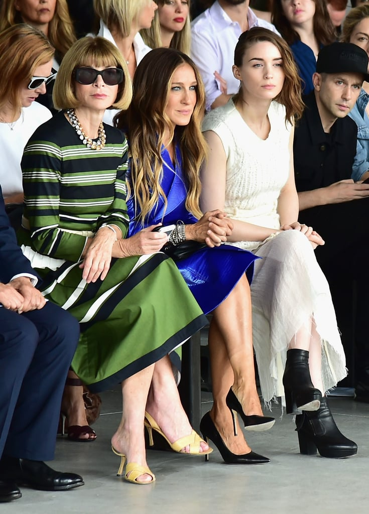 Sarah Jessica Parker and Rooney Mara
