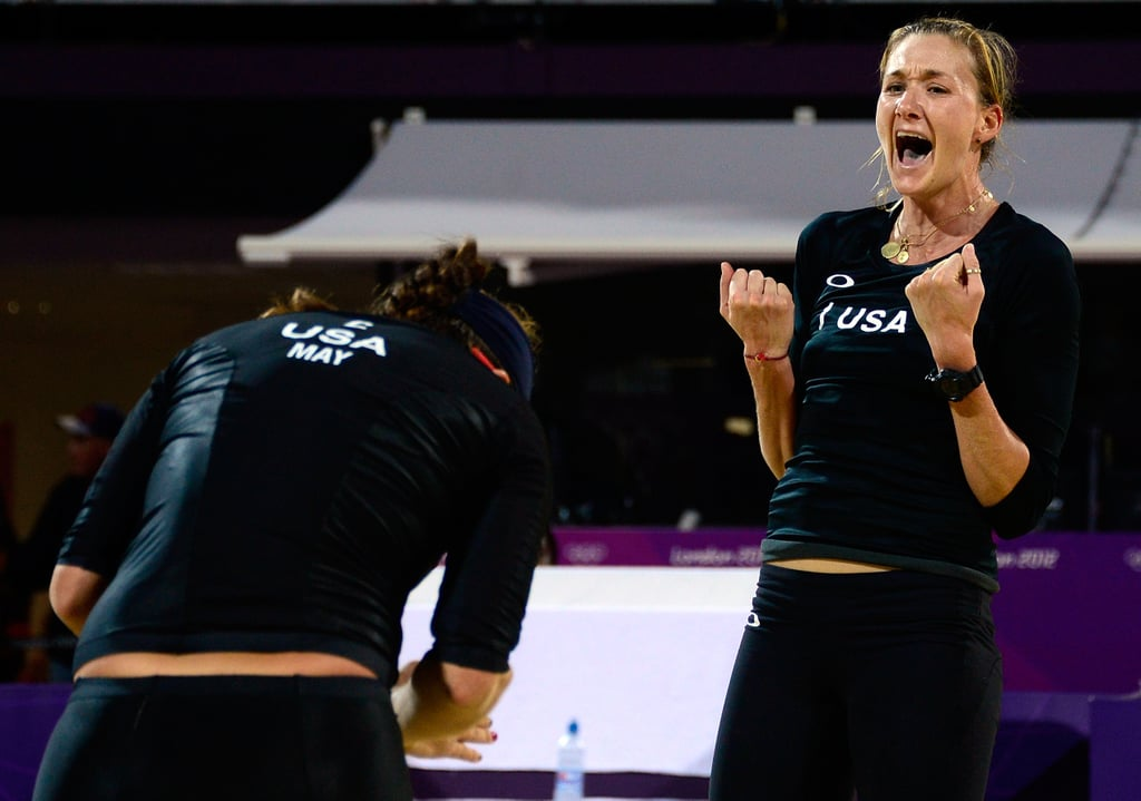 It was looking a little iffy for Misty May-Treanor and Kerri Walsh after losing the first set against the Austrian Schwaiger sisters, but the US duo came out on top!