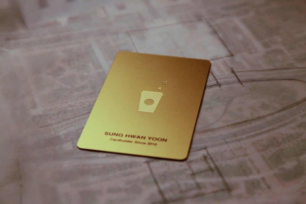 Get a Starbucks Card