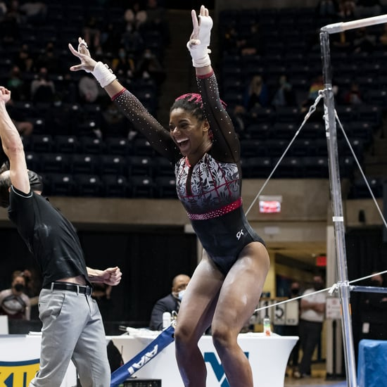Lynnzee Brown Clinches Denver Big 12 Championship 10 Routine