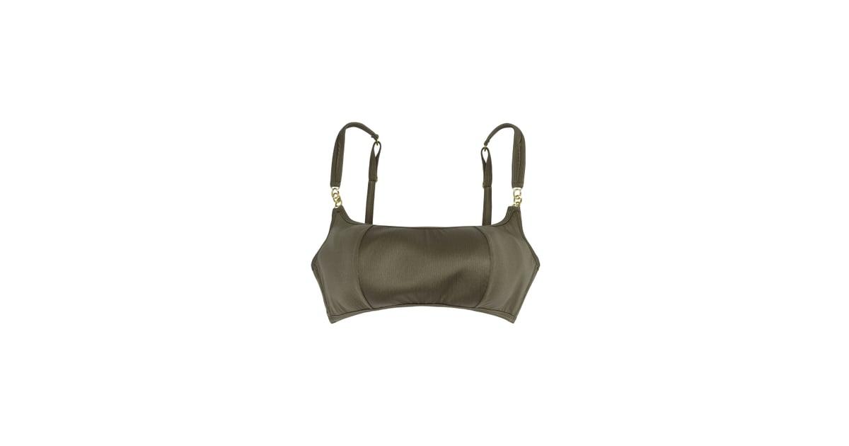 2f4959e7515 Hunter McGrady Plus Size Curve High Shine Cropped Bikini Top ...