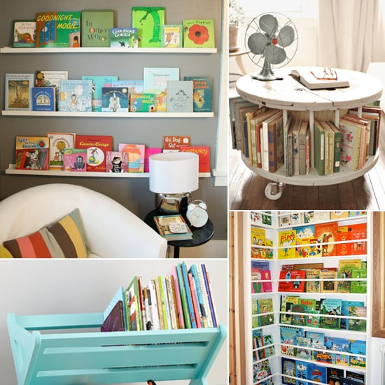Storage solutions for kids 39 books popsugar moms How to store books in a small bedroom