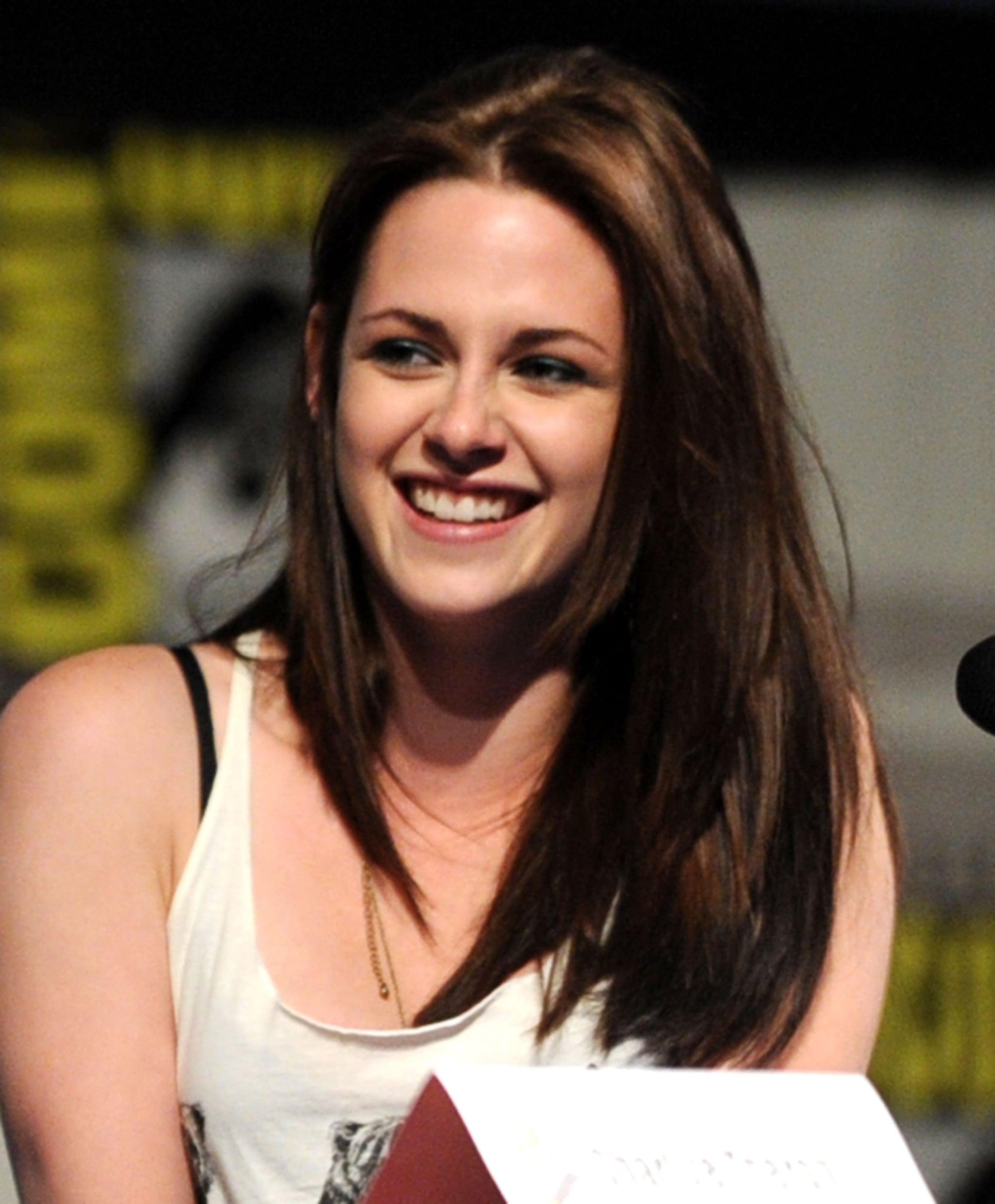 Kristen Stewart joked with her co-stars.
