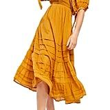 Free People Let's Be Friends Midi Dress