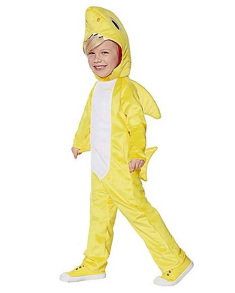 Toddler Baby Shark Jumpsuit Costume With Sound Chip