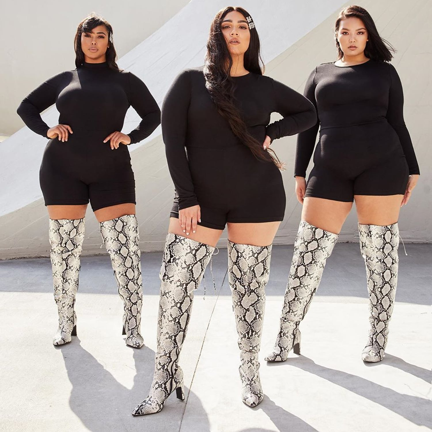 Live It Up Thigh High Boot | Nasty Gal