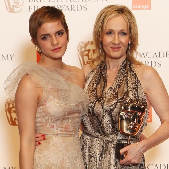 Emma Watson and JK Rowling International Women's Day Tweets