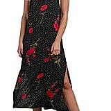 Volcom End of the Rose Midi Dress
