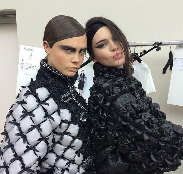 Kendall Jenner at Fashion Week Fall 2015