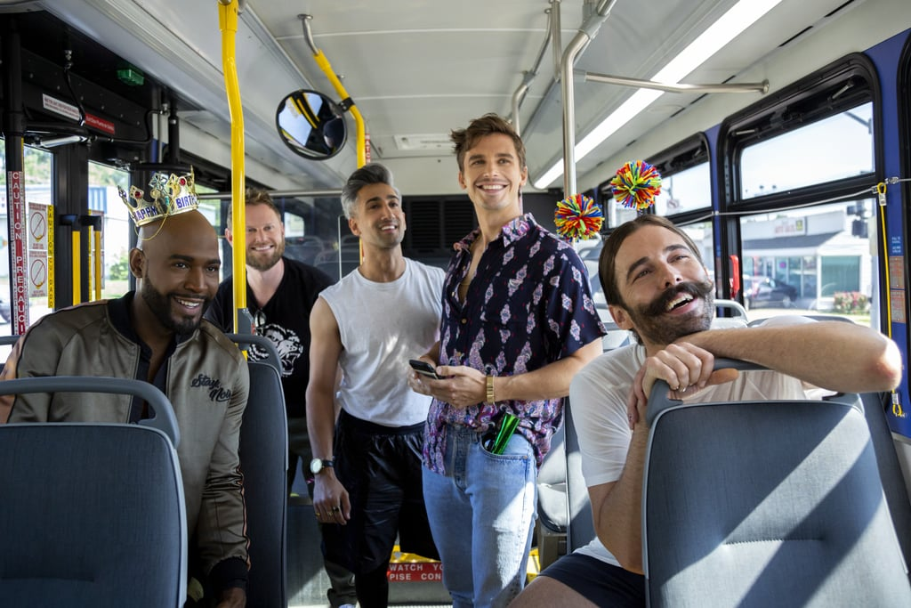 "Are you guys ready to cry all the happy tears? Because Queer Eye season three officially has a release date, and the first-look photos already have us tearing up. The heartfelt reality show premiered its first season in January 2018 and second in June, both to widespread critical acclaim (the show won an Emmy!). Now the series will return on March 15, ready to transform the lives of style-challenged, emotionally constipated (sorry) people in Kansas City, MO. The Fab Five — Antoni Porowski (food and wine), Bobby Berk (interior design), Jonathan Van Ness (grooming), Karamo Brown (culture), and Tan France (fashion) — are all on board, so more lessons about self-love, confidence, French tucks, sulfates in shampoo, and avocados are on the way. To celebrate the season three announcement, Netflix not only released two brand-new photos from the season but also a single that Carly Rae Jepsen wrote to mark the occasion: ""Now That I Found You."" Check out all three before the new episodes drop in March, ahead!      Related:                                                                                                           Betty Who Reimagined the Queer Eye Theme Song, and the Music Video Is Pure Joy"