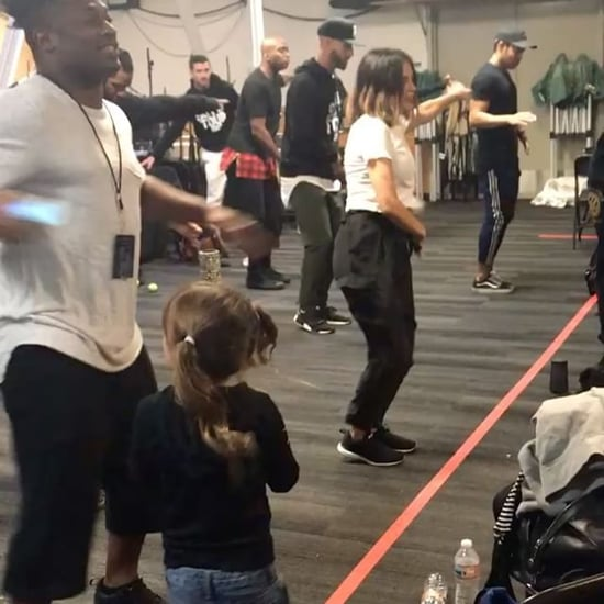 Jenna Dewan Tatum Multitasking at Work