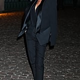 "Victoria Beckham attended the event after designing a ""green"" dress for the first Green Carpet Challenge collection."
