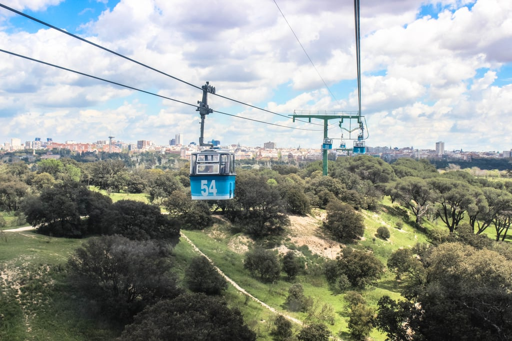 If you want to see the city from a bird's eye view, hop aboard the Teleferico de Madrid. This cable car was originally built as part of the Parque de Atracciones amusement park, but now takes you over the River Manzanares and into the Casa de Campo park.
