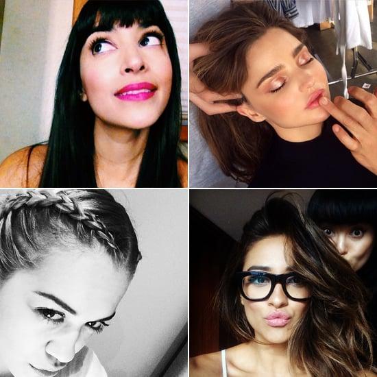 Celebrity Beauty Instagrams | March 12, 2014
