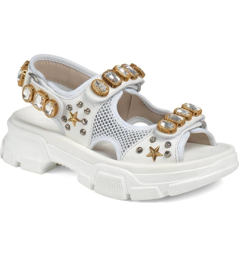 c9c6f5765 Gucci Aguru Jewel Sandal | Best Comfortable Casual Sandals ...