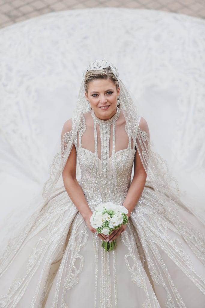 Elie Saab Jr S Wedding Photos 2019 Popsugar Fashion