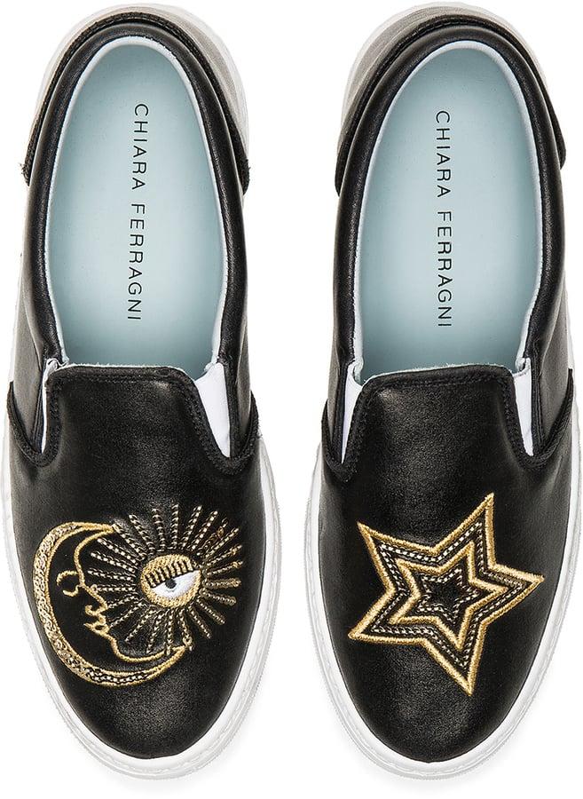 Chiara Ferragni Starry Slip-On Sneaker