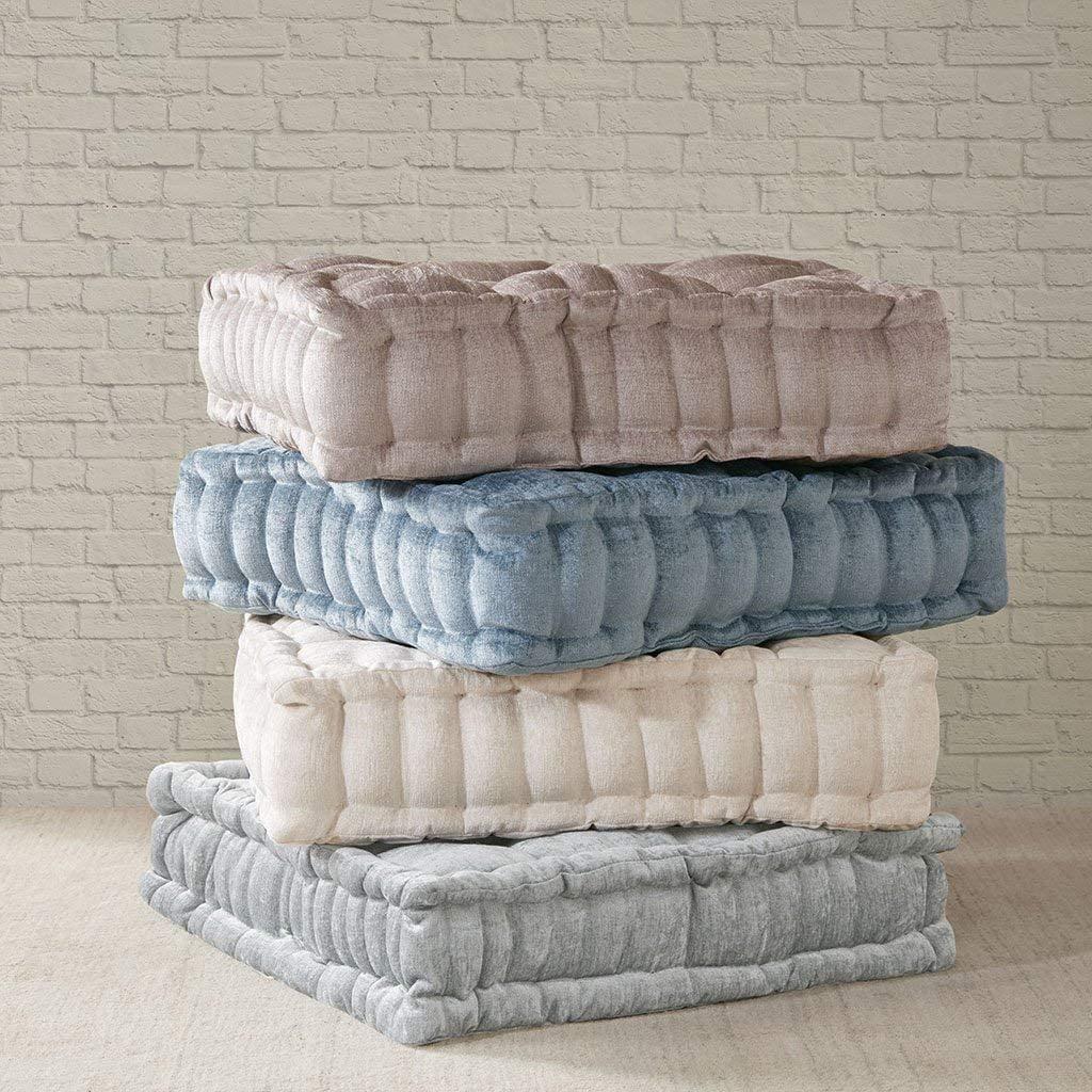 Intelligent Design Azza Poly Chenille Square Floor Pillow Cushion