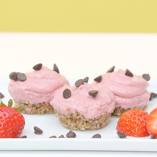 Raw Vegan Strawberry Cheesecake Recipe