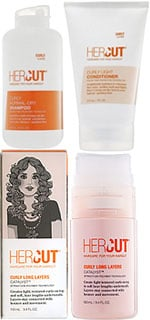 HerCut Curly Medium Conditioner, Curly Long Layers Catalyst, and Curly Normal-Dry Shampoo Sweepstakes Rules