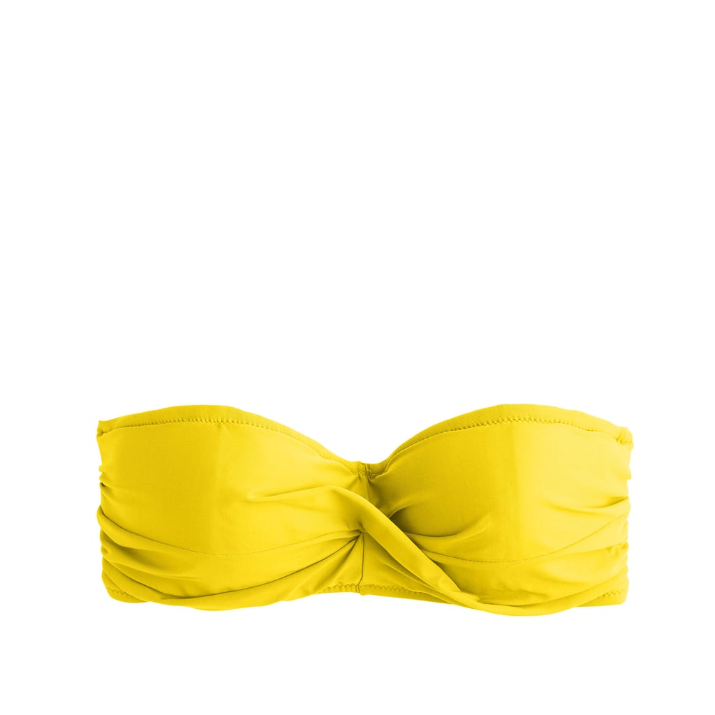 J.Crew Twist-Bandeau Underwire Bikini Top ($54)