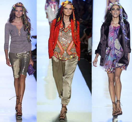 New York Fashion Week, Spring 2009: Diane von Furstenberg