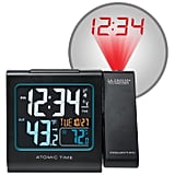 La Crosse Technology Projection Alarm Clock With Temperature