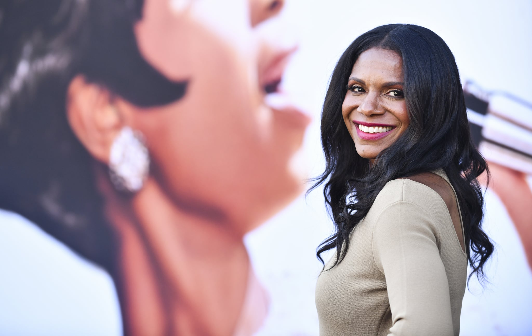 LOS ANGELES, CALIFORNIA - AUGUST 08: Audra McDonald attends the Los Angeles premiere of MGM's