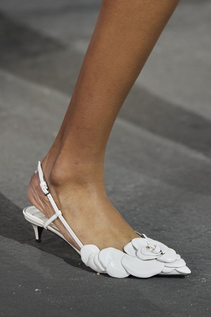 Slingbacks from the Valentino Spring/Summer 2021 runway.