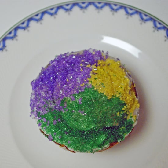 Kings Cake Cupcakes For Mardi Gras