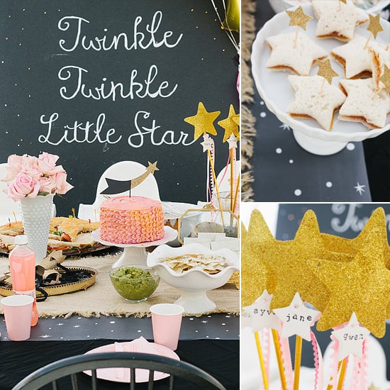 "Creative Converting 1st Birthday Boy Cake Topper Blue: ""Twinkle Twinkle Little Star"" Party"