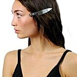 Vinca Chef's Knife Hair Clip