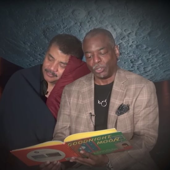 LeVar Burton Reading Goodnight Moon to Neil deGrasse Tyson