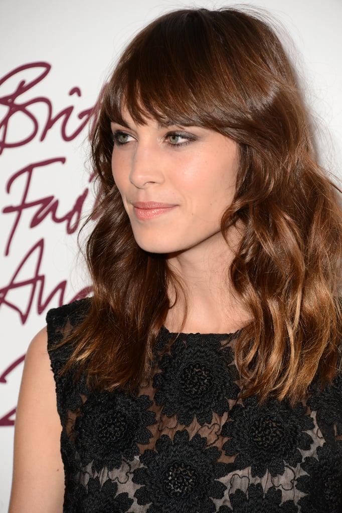 November 2012: British Fashion Awards