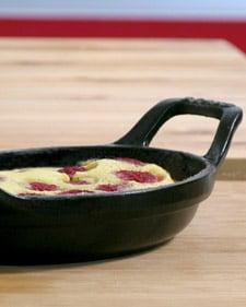Eric Ripert's Raspberry Clafouti Recipe