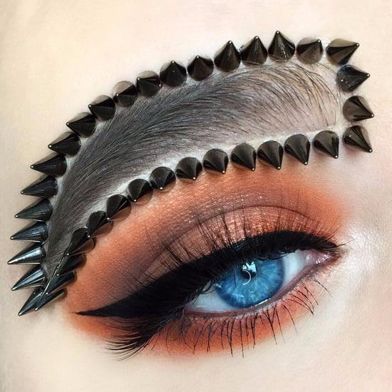 Spiky Brow Trend