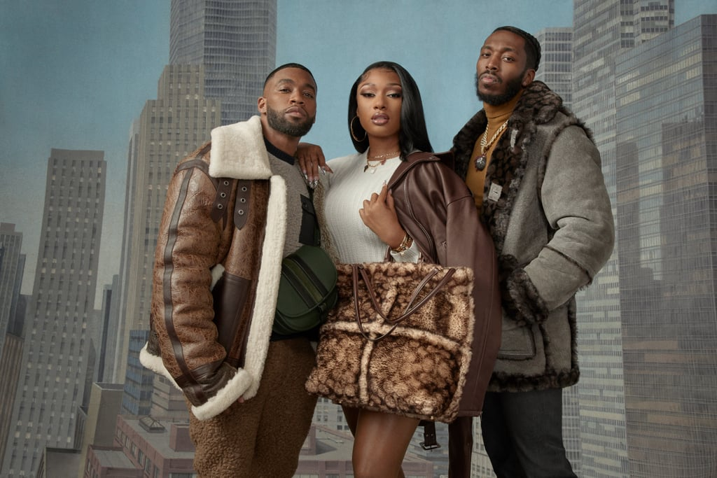Megan Thee Stallion and Pardi Fontaine Model For Coach