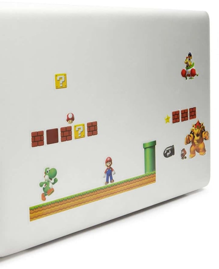 Super Nintendo Gadget Decal
