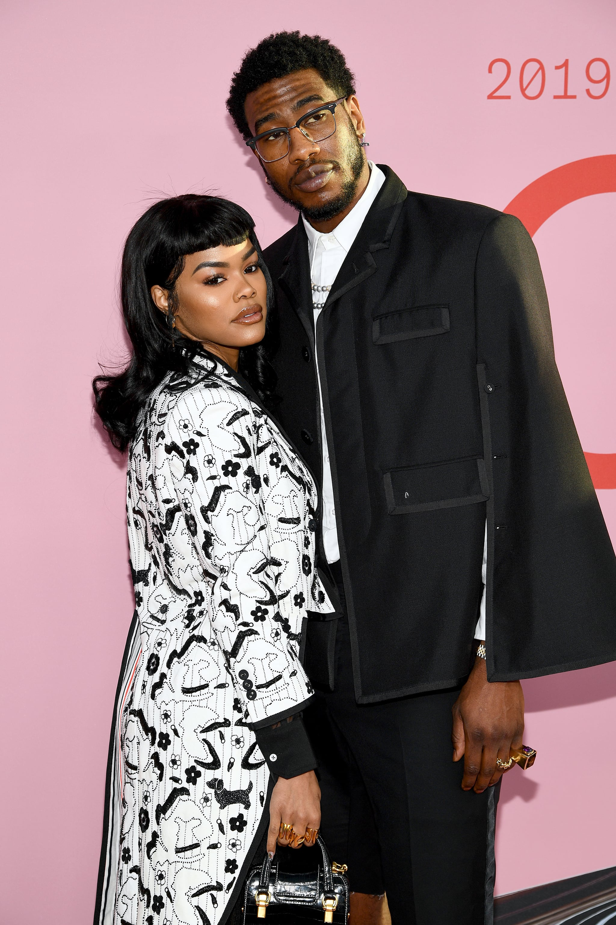 NEW YORK, NEW YORK - JUNE 03: Teyana Taylor and Iman Shumpert attend the CFDA Fashion Awards at the Brooklyn Museum of Art on June 03, 2019 in New York City. (Photo by Dimitrios Kambouris/Getty Images)