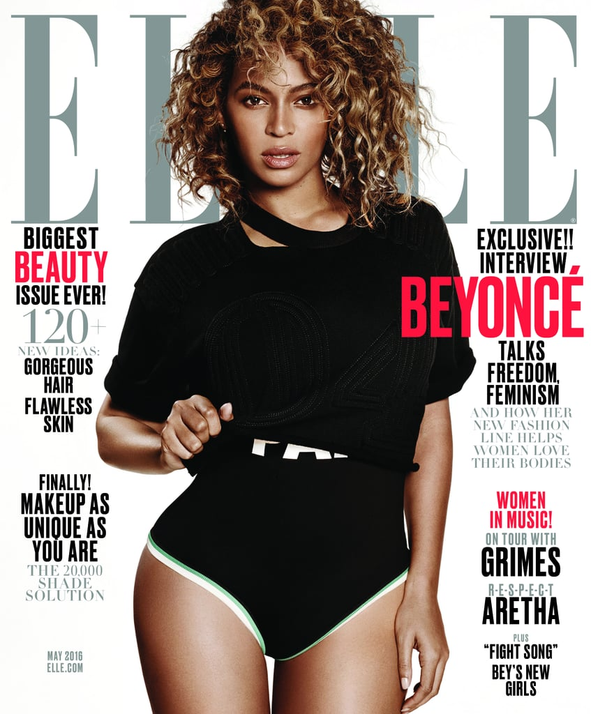 Beyonce Elle Magazine May Cover 2016