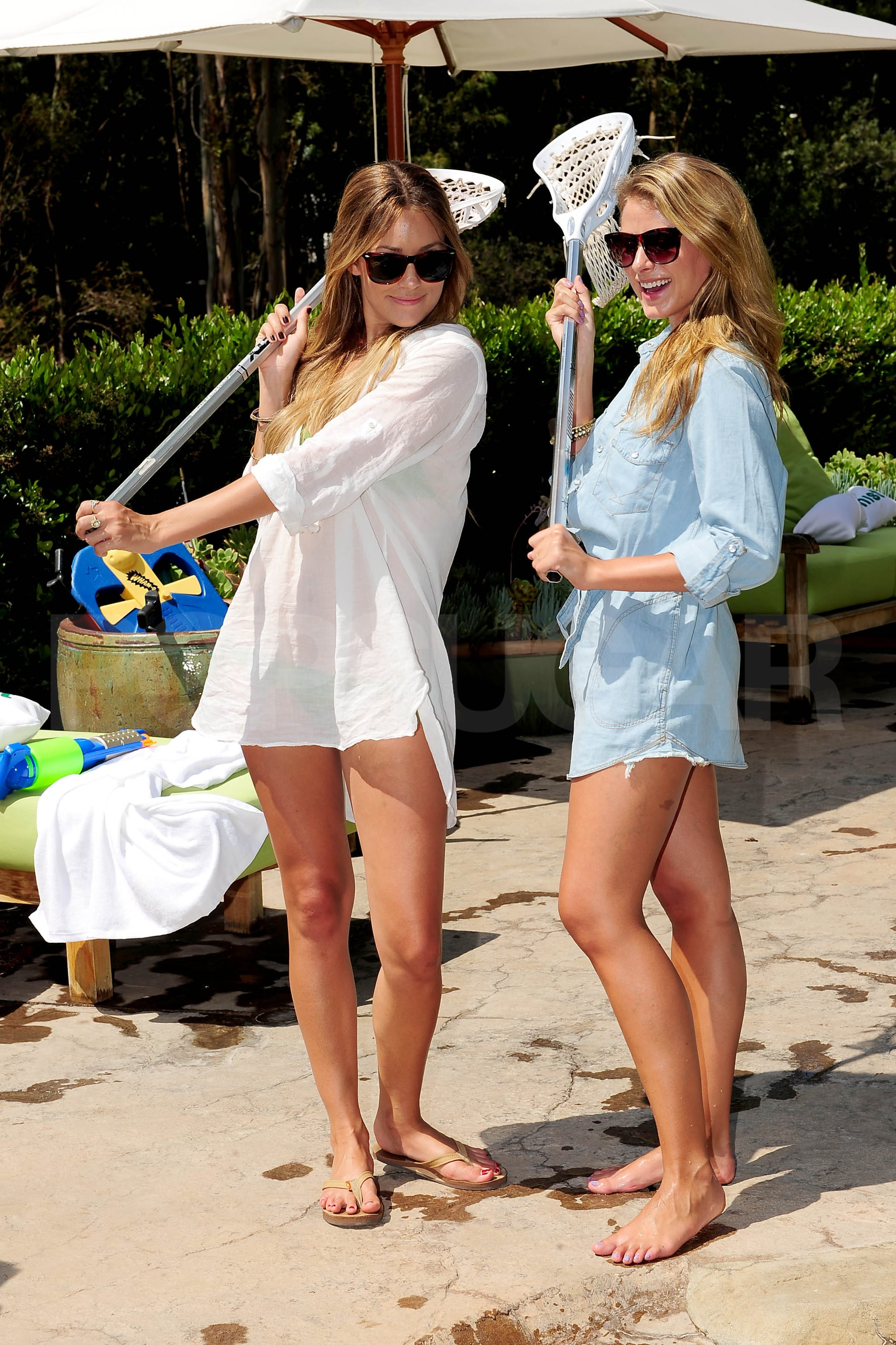 Photos Of Lauren Conrad And Lo Bosworth Playing Lacrosse
