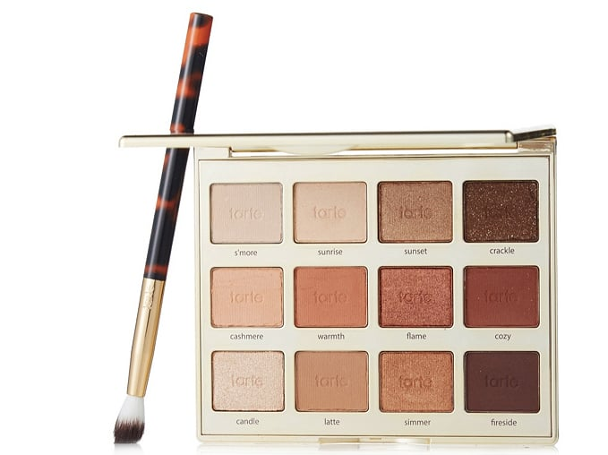 Tarte Tartelette Toasted Eyeshadow Palette and Brush
