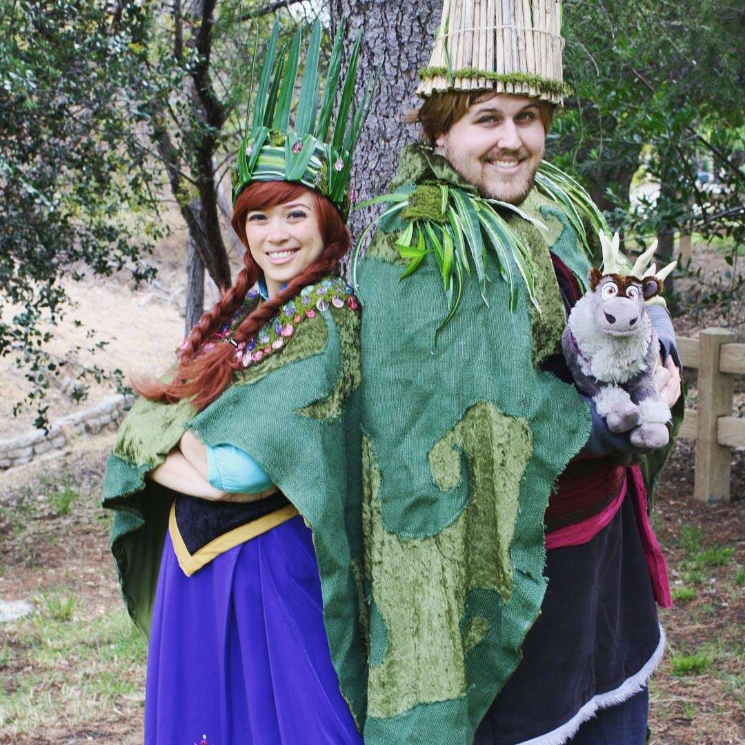 The Princess And The Frog Diy Halloween Disney Couples Costumes