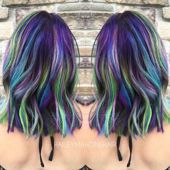 Galaxy Hair Colour Ideas Popsugar Beauty Australia Photo 1