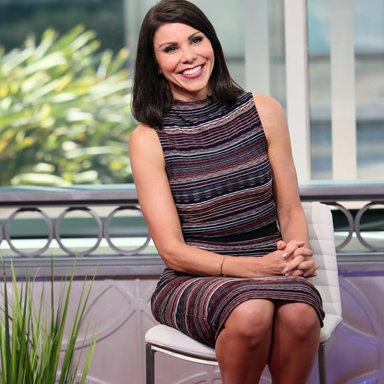 Pictures of Heather Dubrow's Etched Glass Window